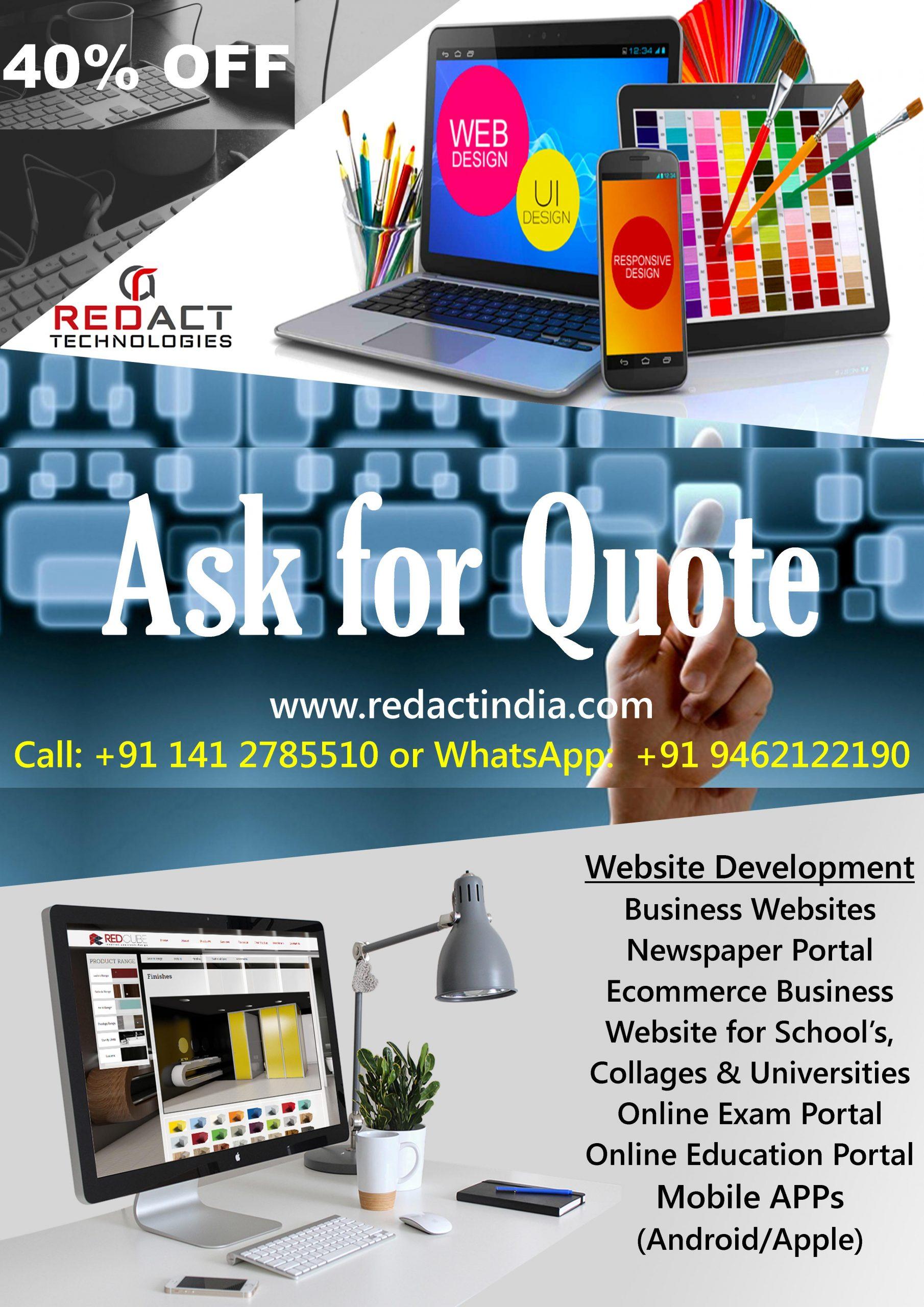 Redact India | Media Solutions | Website Development | APP Development | PR Relations | Events & Promotions