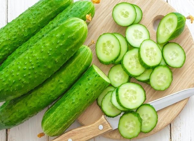 Cucumber as Natural Bleach