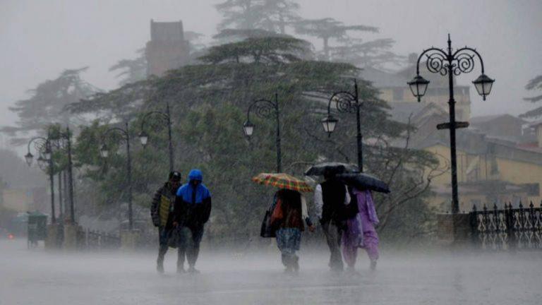 मौसम विभाग ने 5 दिनों के लिए अलर्ट किया जारी, राजस्थान ऑरेंज जोन में