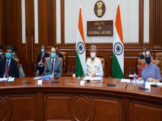 S. jaishankar in Saarc Meeting