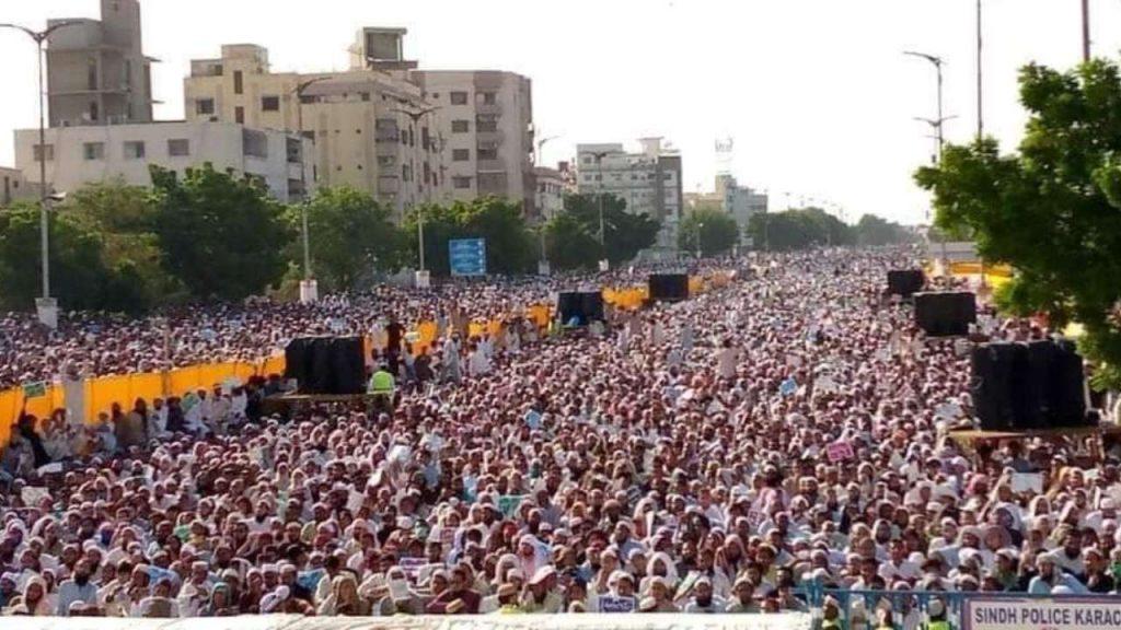 Sunni Protest Against Shia in Pakistan