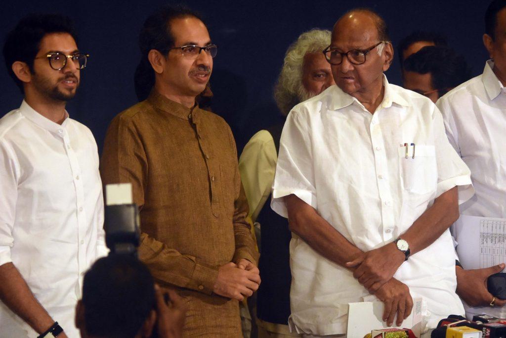 महाराष्ट्र सीएम उद्धव, शरद पवार