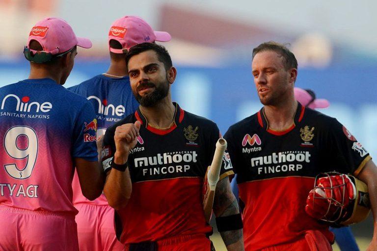 IPL: विराट के बल्ले से निकले रन, RR को RCB ने 8 विकेट से हराया