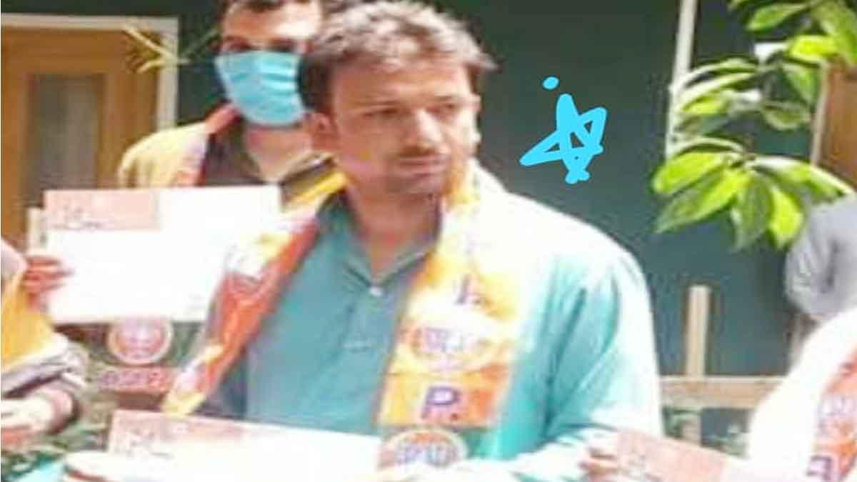 BJP Leader Fida Hussain