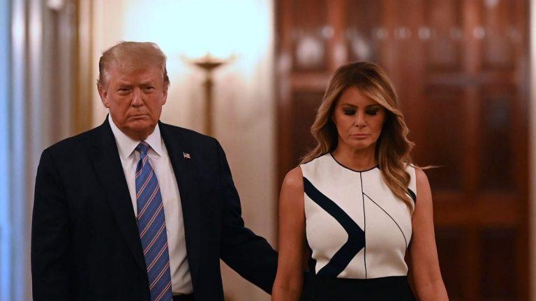 अमेरिकाः राष्ट्रपति ट्रंप और पत्नी मेलानिया कोरोना संक्रमित, अस्पताल में भर्ती