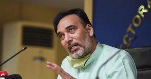 दिल्ली के पर्यावरण मंत्री गोपाल राय