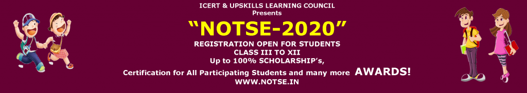 National Online Talent Search Exam 2020 | NOTSE 2020