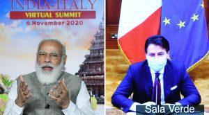 India-Italy Virtual Summit