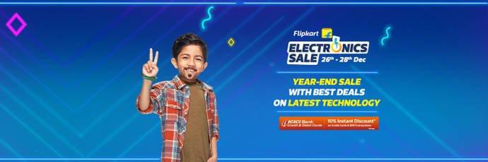 फ्लिपकार्ट की इलेक्ट्रॉनिक्स सेल में स्मार्टफोन पर मिलेगा Heavy Discount