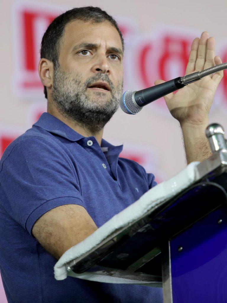 राहुल गांधी बोले- प्रधानमंत्री ने चीन के आगे झुकाया सिर, लद्दाख में फिंगर 3-4 की जमीन चीन को दे दी