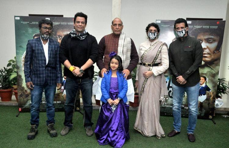 Fauji Calling movie, Sharma Joshi, Defence minister rajnath singh