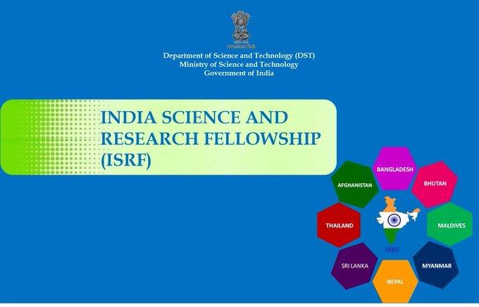 8 देशों के 40 स्टूडेंट को दी गई ISRF-2021